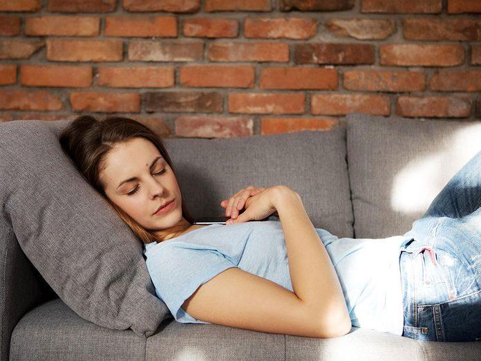 Faire la sieste pour affiner sa perception sensorielle.