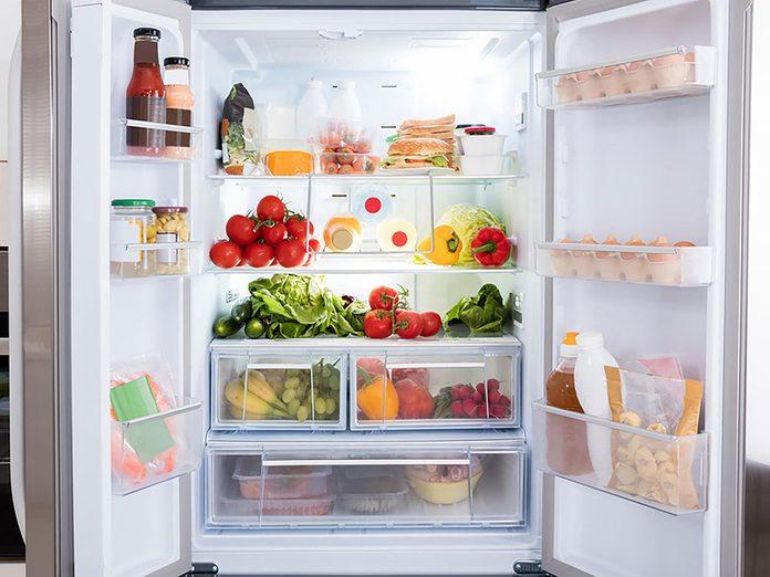N'oubliez pas de faire le grand ménage du réfrigérateur.