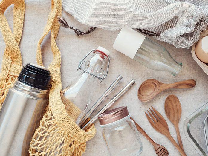 Interdire le plastique: objectif zéro plastique d'ici 2030.