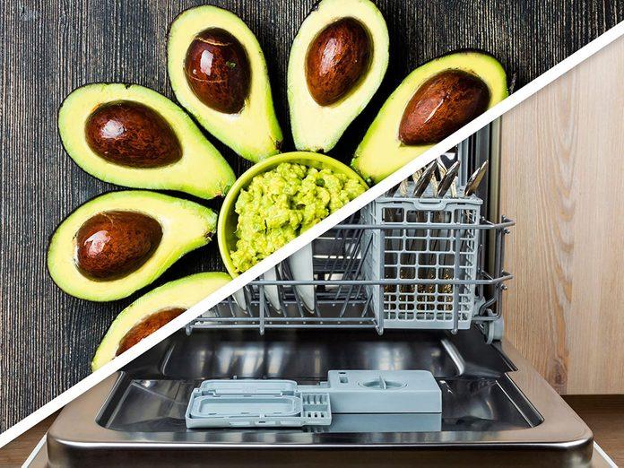 Vous serez surpris d'apprendre que vous pouvez faire mûrir les avocats au lave-vaisselle!