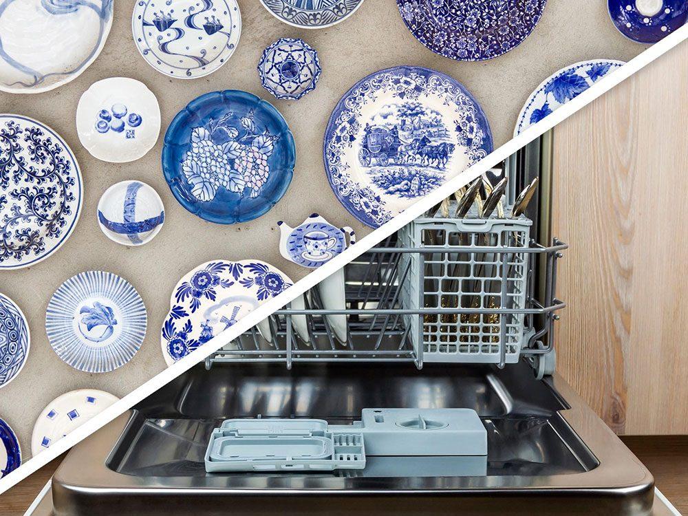 Vous serez surpris d'apprendre que vous pouvez faire sécher la vaisselle lavée à la main au lave-vaisselle!