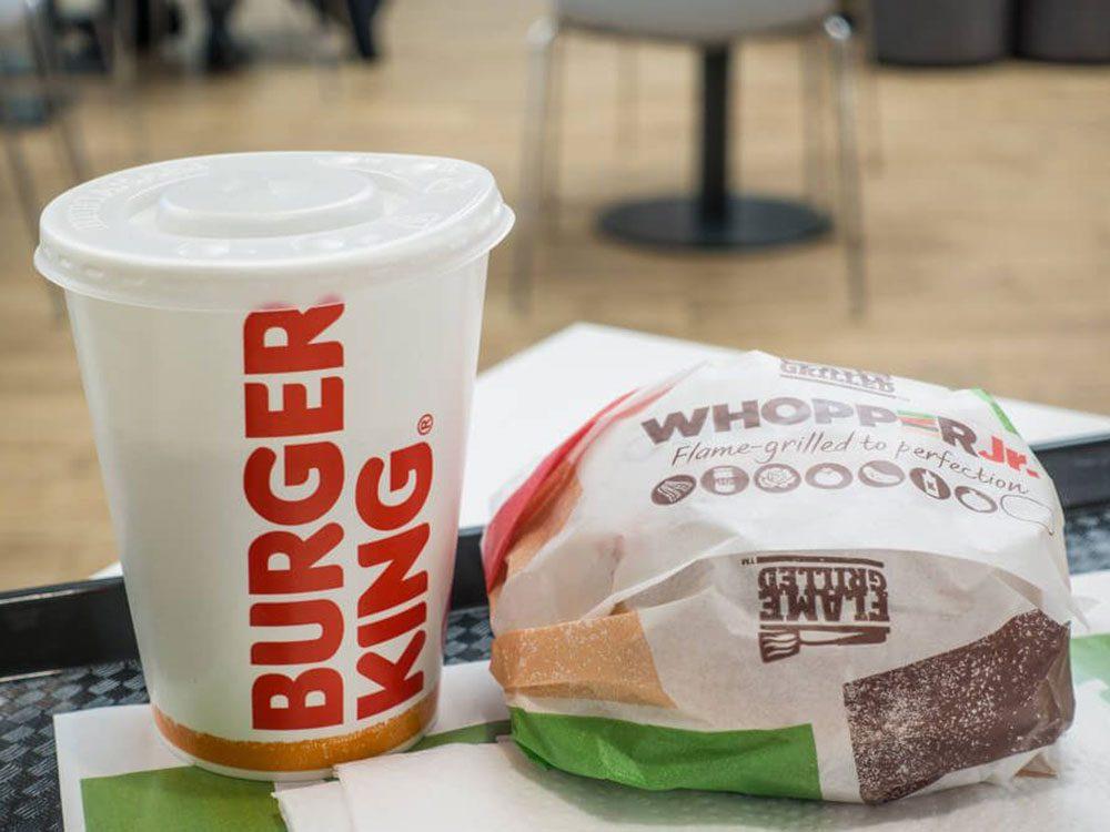 Burger King est à l'origine de l'un des pires poissons d'avril!