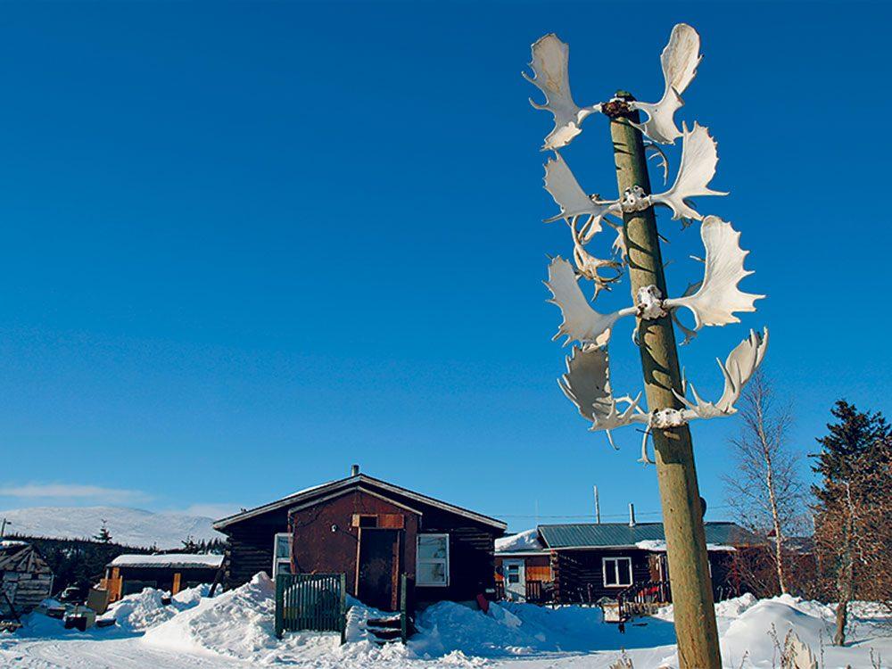 Menace sur les caribous: Old Crow dans le Yukon.