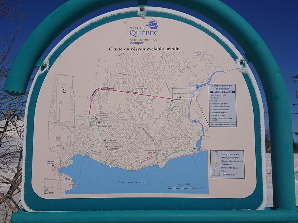 Le corridor cyclable des Beauportois est l'une des pistes cyclables à faire à Montréal et à Québec.