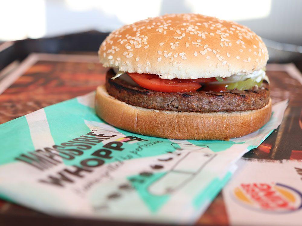 Canular: le poisson d'avril de Burger King.