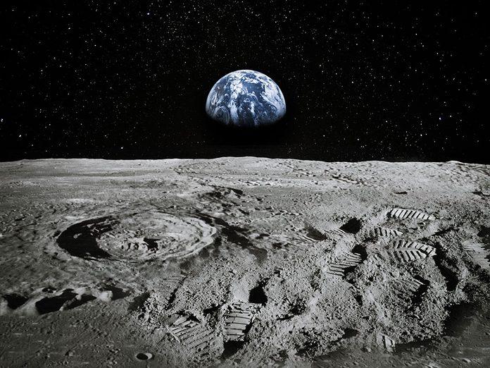 Canular: le poisson d'avril de la vie sur la Lune.