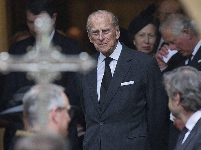 Les invités aux funérailles du Prince Philip.