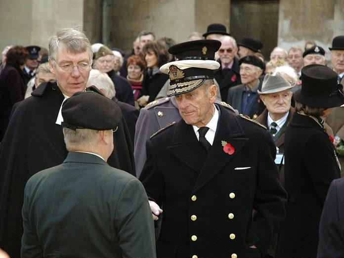 Presque tous les grands médias d'information ont des films d'archives à la mort du Prince Philip.