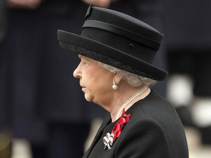 Le deuil de la Reine à la mort du Prince Philip.