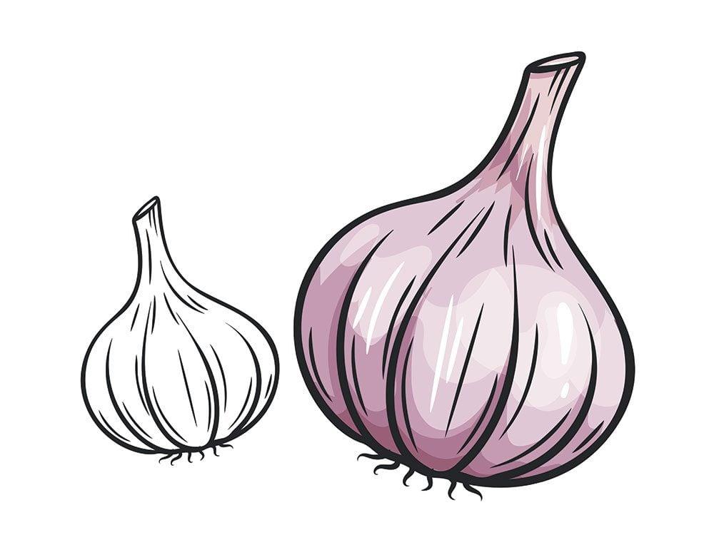 L'ail est l'un des remèdes maison utilisés au Portugal.