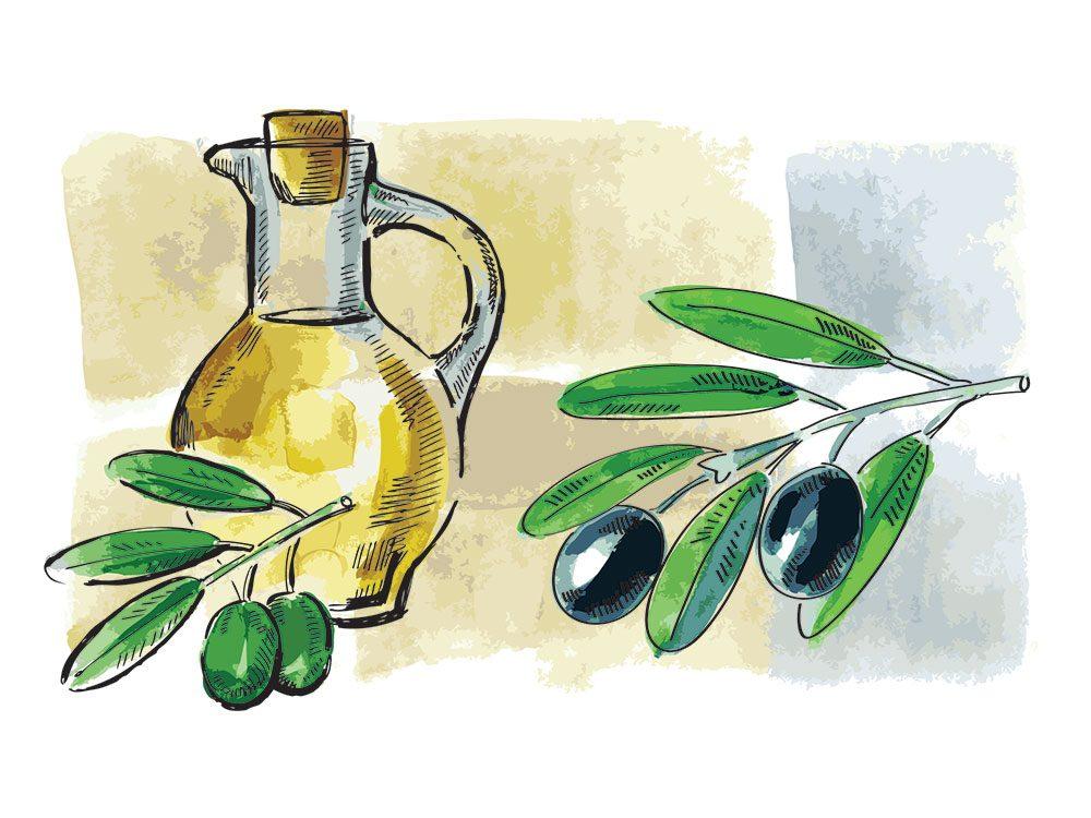 L'huile d'olive est l'un des remèdes maison utilisés en Espagne.