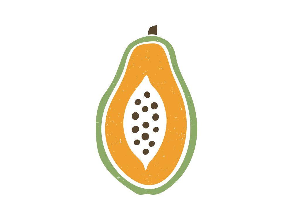 La papaye est l'un des remèdes maison utilisés en Malaisie.