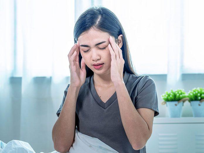 L'anémie fait partie des symptômes du cancer du côlon chez la femme.