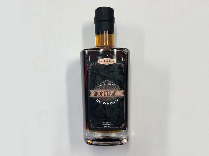 Temps des sucres: un sirop vieilli en fût de Whisky.