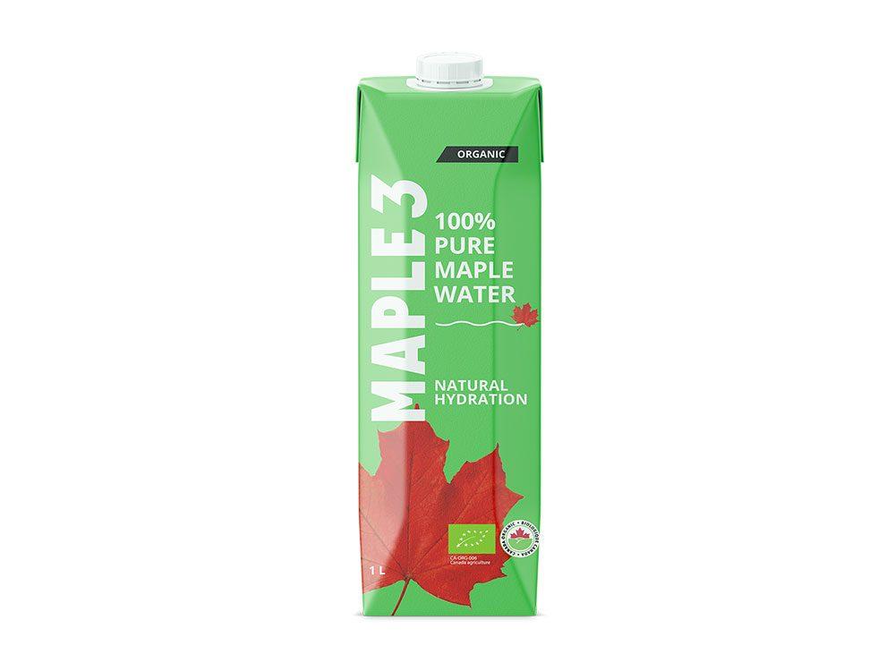 De l'eau d'érable pure pour le temps des sucres.