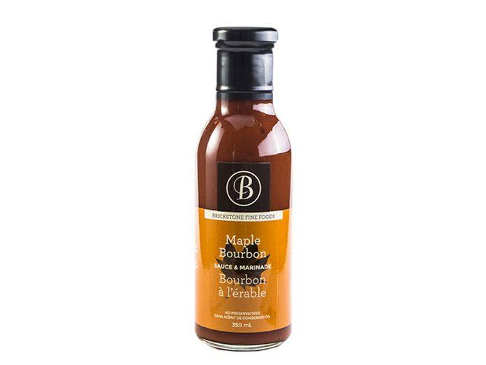 Sauce & Marinade au Bourbon à l'érable pour le temps des sucres.es Sucres Sauce Erable