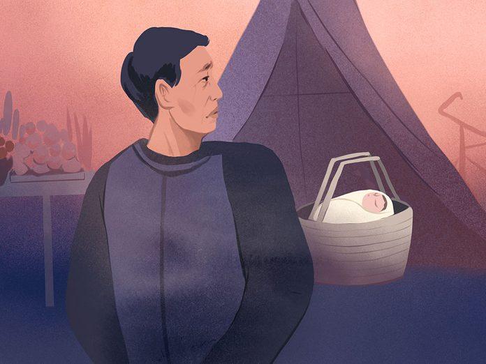 Chine: elle avait caché sa grossesse jusqu'au septième mois.