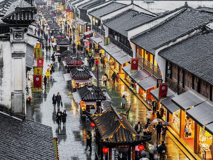 Chine: Xu et Qian avaient regagné Hangzhou.