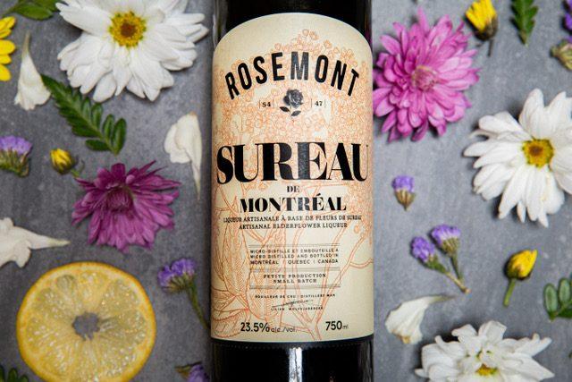 Liqueur de sureau de la Distillerie de Montréal