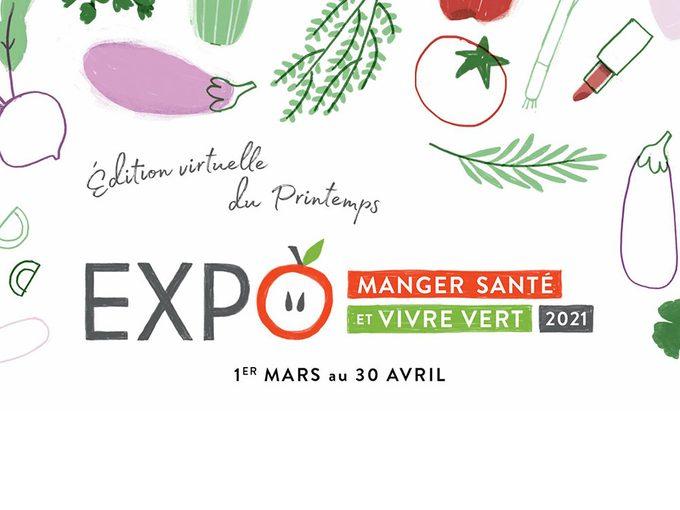 L'Expo Manger Santé en mode confinement.