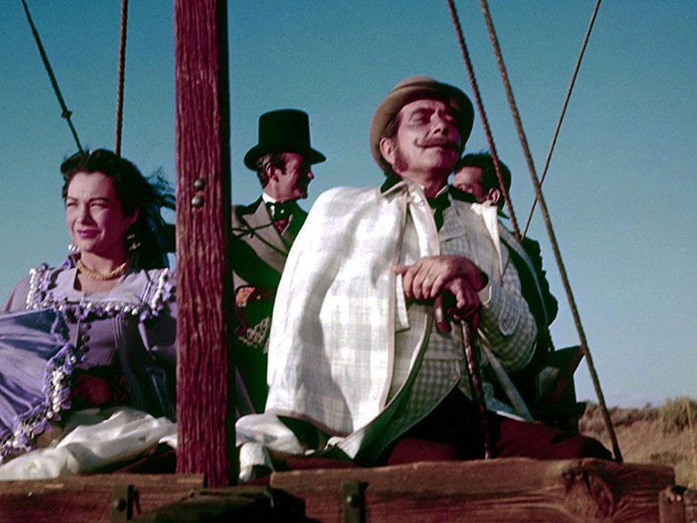 «Le Tour du monde en quatre-vingts jours» a reçu l'un des Oscars du meilleur film.