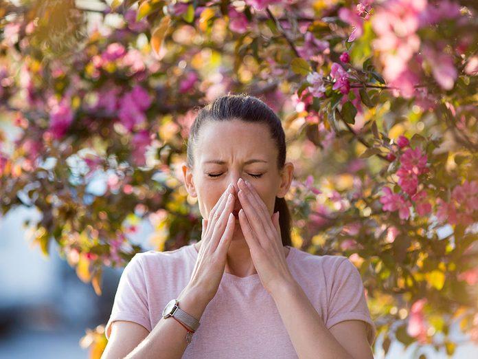 Des allergies sont possibles partout.