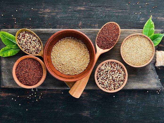Les types de quinoa et leurs bienfaits.