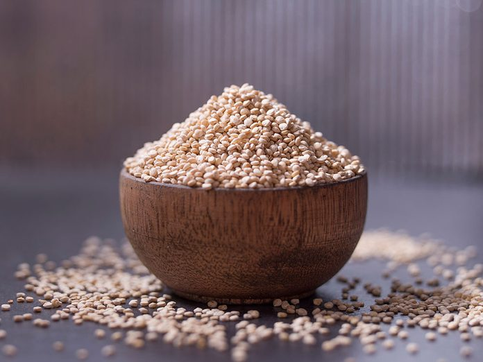 Bienfaits du quinoa: il peut améliorer la santé cardiaque.