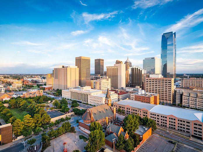 Bruit et pollution sonore: les vols supersoniques à Oklahoma City.