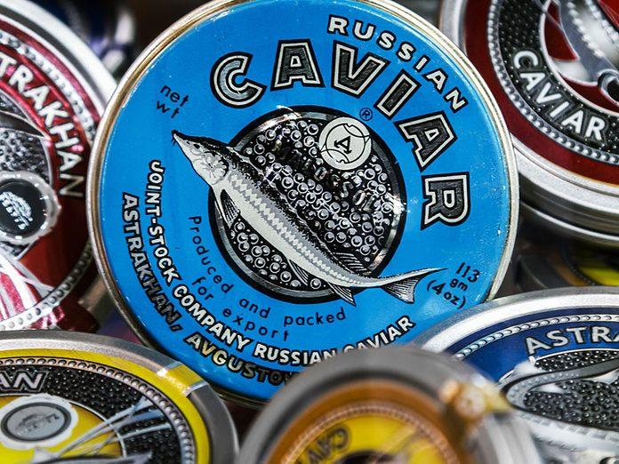 Mafia russe: un cartel international du caviar.
