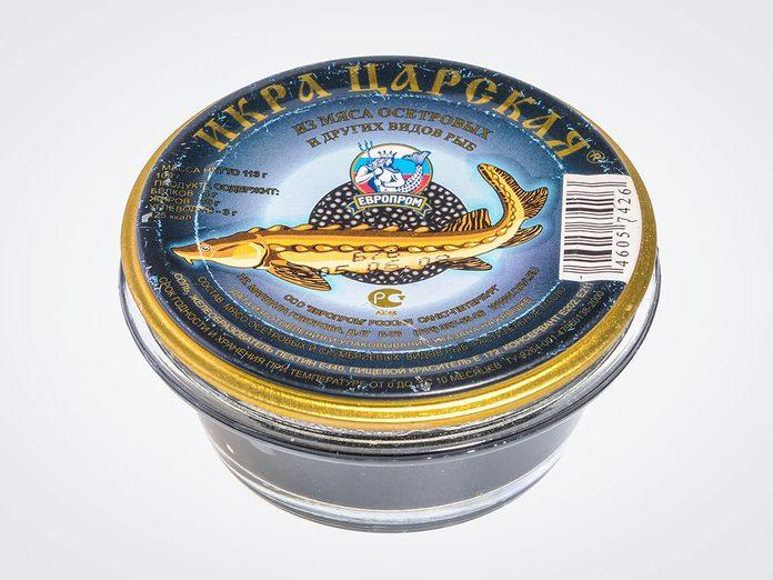Faux caviar, vrai bagarre.