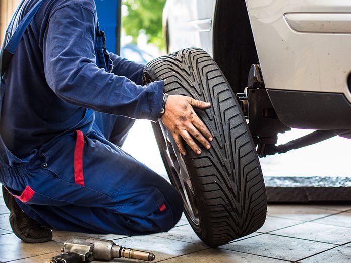 Le changement de pneus est-il nécessaire?
