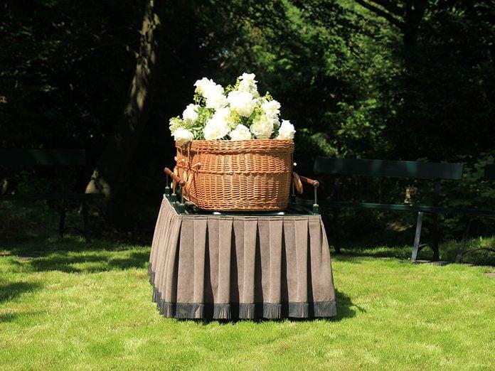 Funérailles: les enterrements verts.