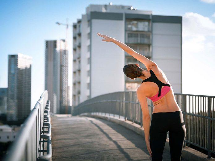 Faire du sport pour une meilleure gestion du stress.