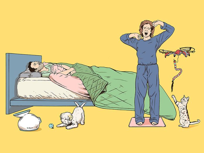 L'oreiller anti-ronflement fait partie des inventions étranges et merveilleuses.