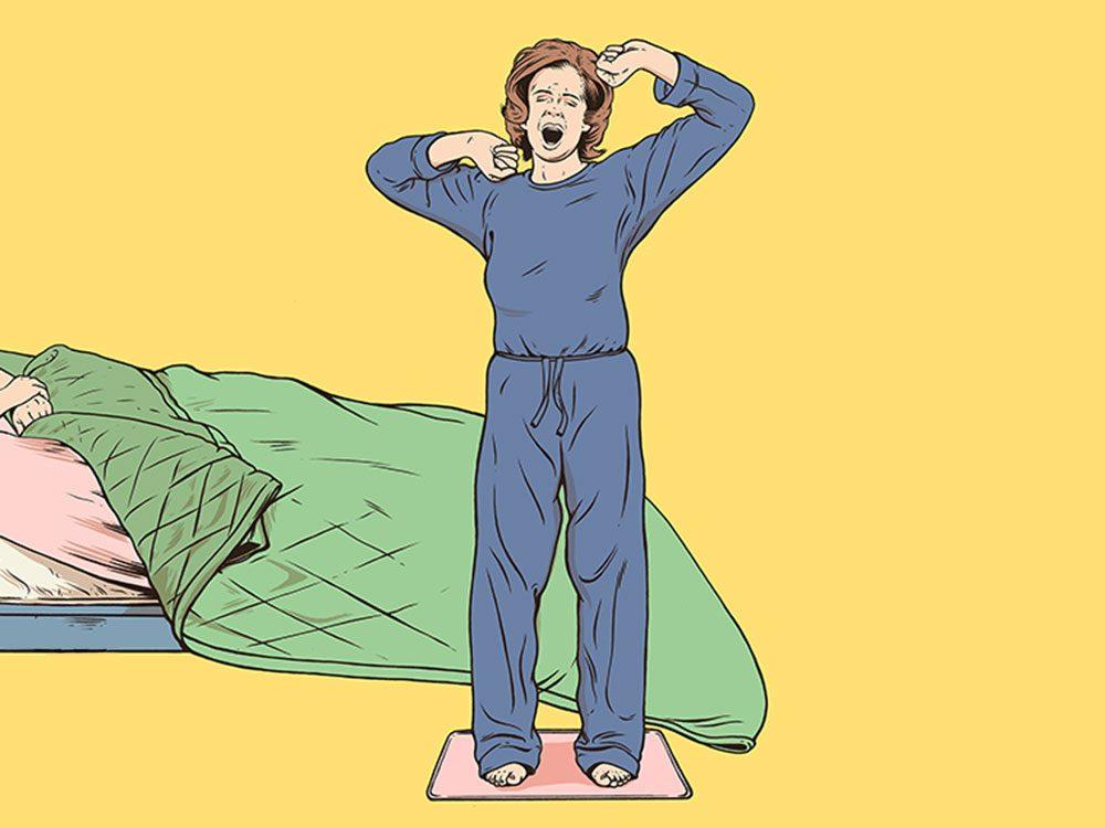 Le réveil Ruggie fait partie des inventions étranges et merveilleuses.