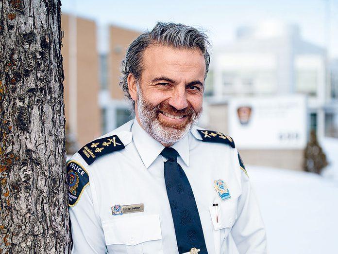 Fady Dagher est le chef du Service de police de l'agglomération de Longueuil (SPL).