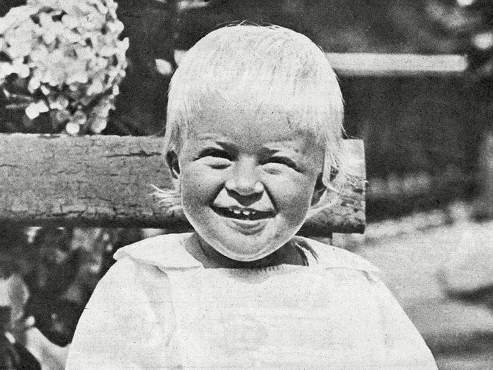Le prince Philip à l'âge du petit Archie.