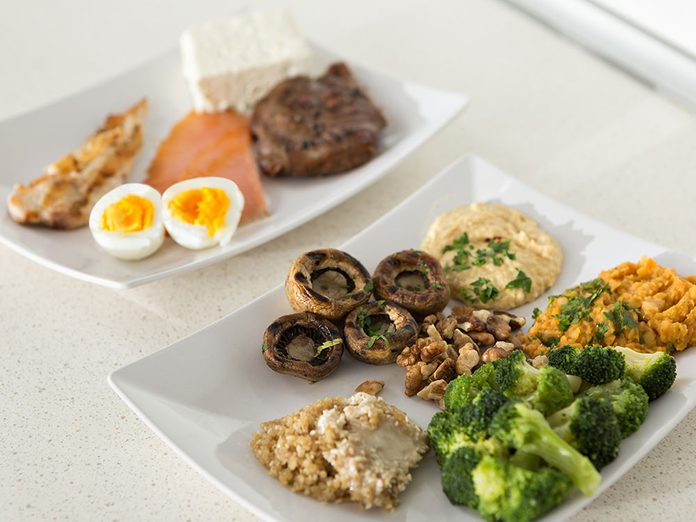 ProteinesLa protéine végétale versus la protéine animale. Vegetales Animles