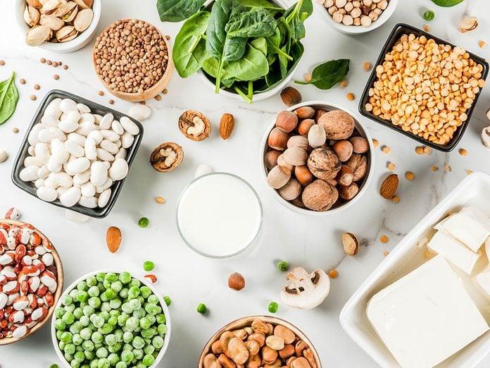Quelles sont les meilleures sources de protéine végétale?