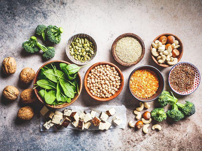L'engouement pour les protéines végétales.