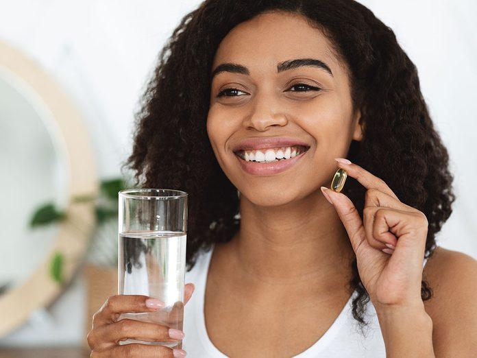 Soins de la peau: vous n'avez pas besoin de vitamines particulières pour votre peau.