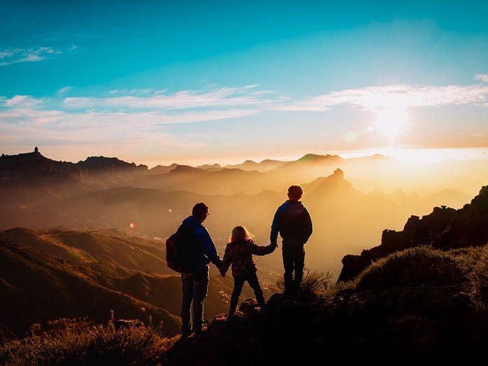 Témoignage: un père et ses deux enfants se perdent et se blessent en montagne.