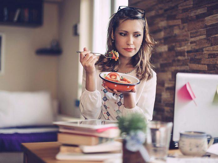 Vous avez toujours faim parce-que vous attendez trop longtemps entre les repas.