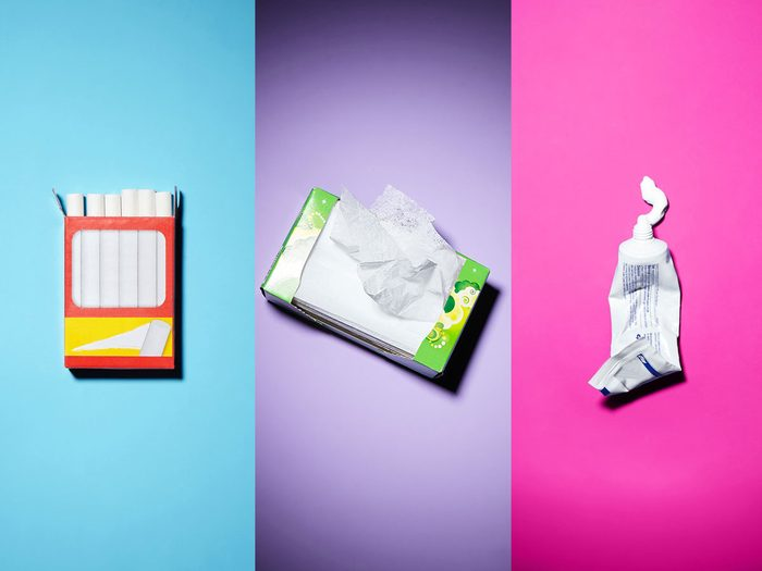 Astuces: des objets ordinaires pour un usage extraordinaire pour le nettoyage.