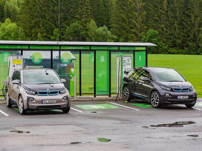 Bonnes nouvelles en Norvège: pour un avenir tout électrique.