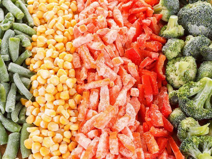 Comment congeler les légumes?
