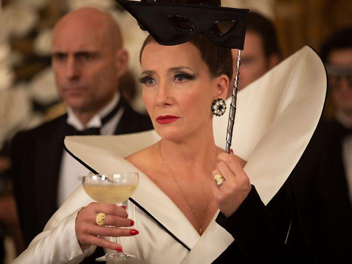 Cruella avec Emma Stone: la Baronne.