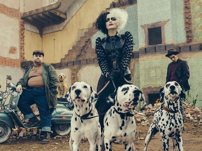 Cruella avec Emma Stone: où sont les dalmatiens?