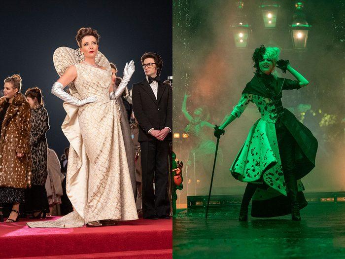 Cruella avec Emma Stone: le style vestimentaire est important.